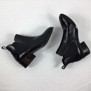 Steve Madden Dicey Black Ankle Boot Size 8